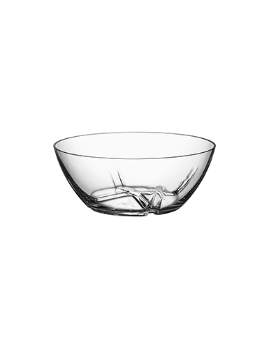 Kosta Boda Bruk Serving Crystal Bowl, Medium
