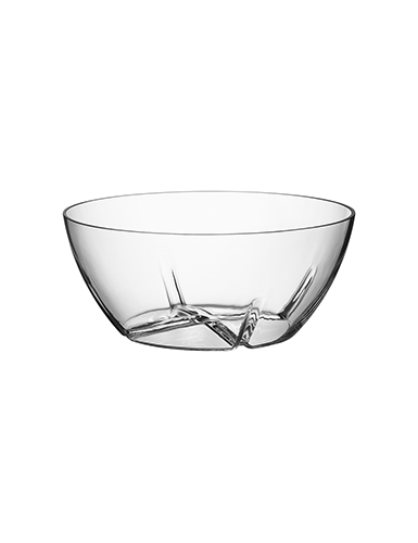 Kosta Boda Bruk Serving Crystal Bowl, Large