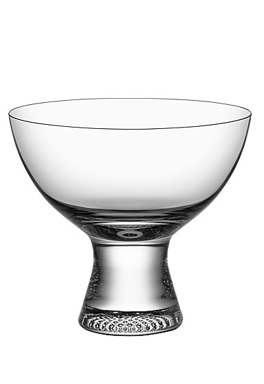 Kosta Boda Limelight Footed Crystal Bowl
