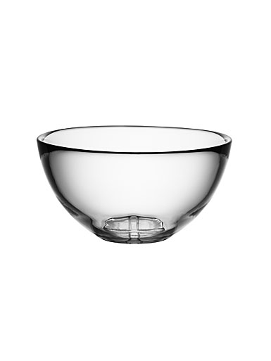 Kosta Boda Bruk Crystal Serving Bowl, Clear
