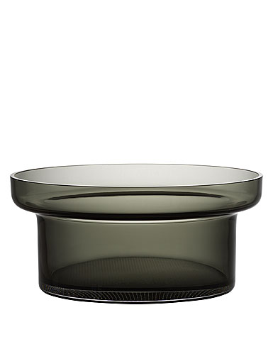Kosta Boda Limelight Bowl Grey