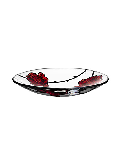 Kosta Boda Crystal Tattoo Dish