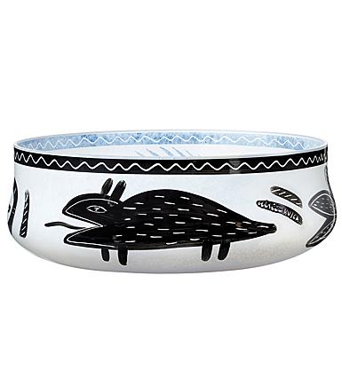 "Kosta Boda Crystal Caramba 10.5"" Dish"