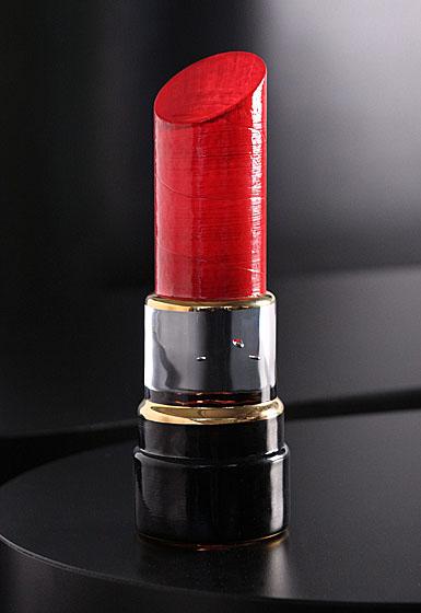 Kosta Boda Make Up, Lipstick Red