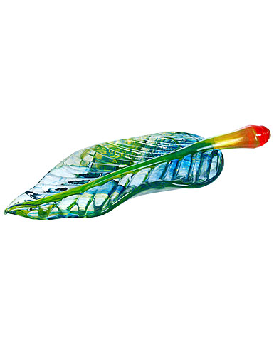 Kosta Boda Wide Life Leaf Sculpture