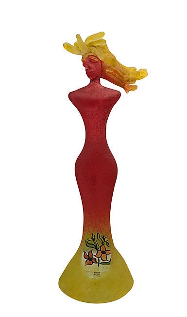 Kosta Boda Kjell Engman Red Lady Limited Edition of 100