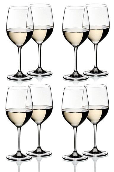 Riedel Vinum Chablis Chardonnay, Set of 6 + 2 Free