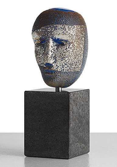 Kosta Boda Art Glass Bertil Vallien Freja Sculpture, Limited Edition
