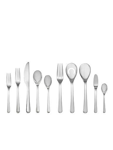 Nambe Aura 45 Piece Flatware Set