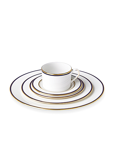 Kate Spade China by Lenox, Library Lane Navy 5 Piece Place Setting