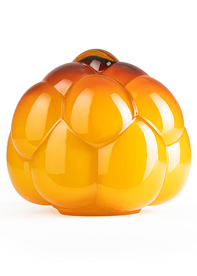 "Kosta Boda Berry Tales 7"" Vase Amber"