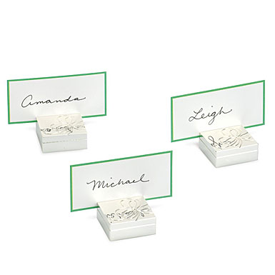 kate spade new york by Lenox Belle Boulevard Placecard Holder, Set of 4
