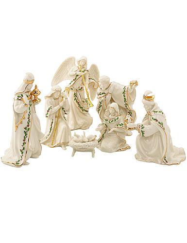 Lenox China Holiday Nativity, 7 Piece Set