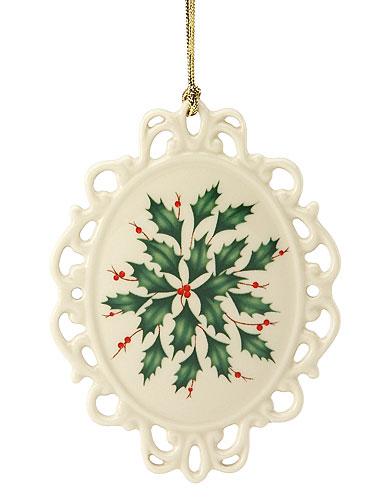 Lenox Holiday Cameo Ornament