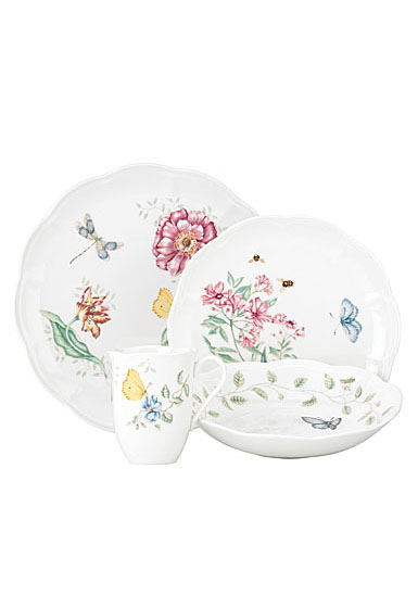 Lenox China Butterfly Meadow, 4 Piece Place Setting
