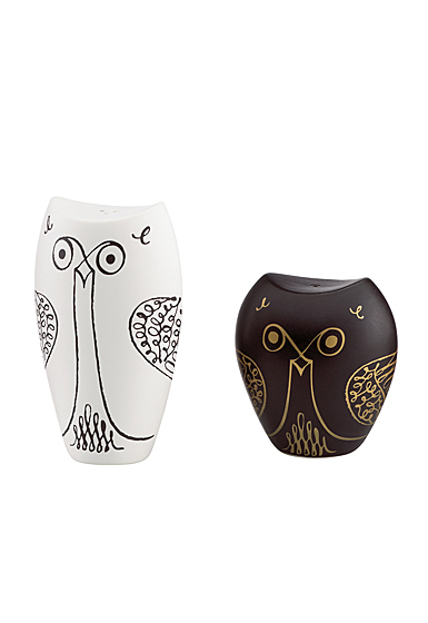 Kate Spade China by Lenox, Woodland Park Animal Owl Salt And Pepper