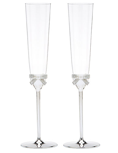 kate spade new york by Lenox Grace Avenue Toasting Flute - Pair