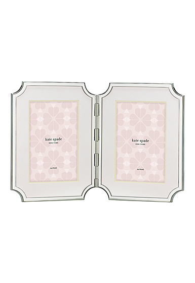 Kate Spade New York, Lenox Sullivan St Hinged Double Frame 4x6""