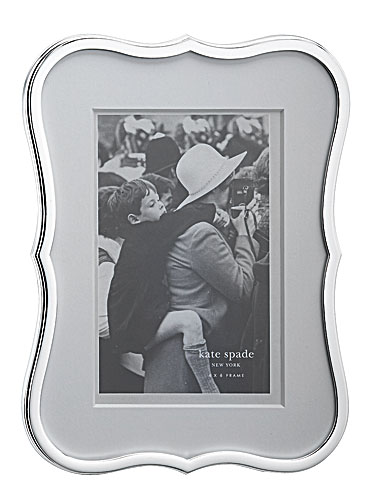 kate spade new york by Lenox Crown Point Frame, 4 x 6in