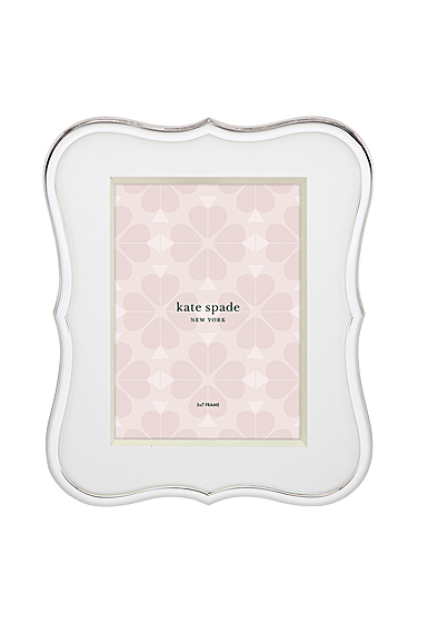 """Kate Spade New York, Lenox Crown Point 5x7"""" Picture Frame"""