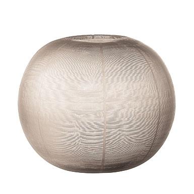 Donna Karan Lenox Artisan Glass, Icicle, Etched Grand Globe Vase