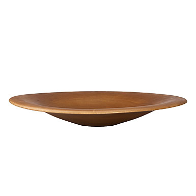 Donna Karan Lenox Hand Carved Wood, Smooth Charger/Bowl