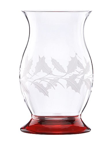 Lenox Holiday Etched Hurricane