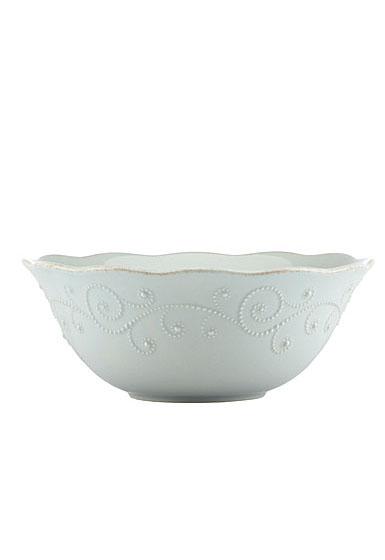 Lenox French Perle Blue Dinnerware Serving Bowl