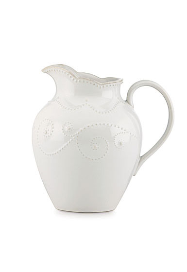 Lenox French Perle White Dinnerware Pitcher Md