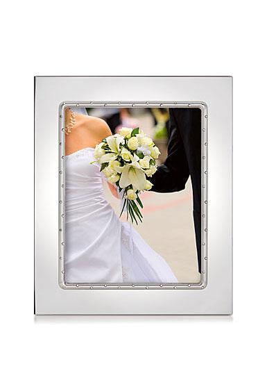 "Lenox Devotion Silverplated Frame 8X10"""