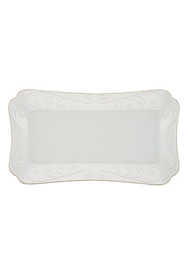 Lenox French Perle White Dinnerware Hors D'Oeuvre Tray