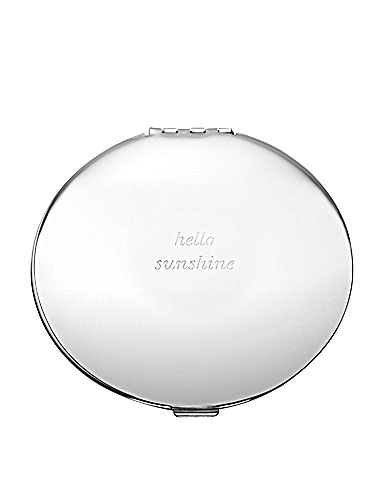 kate spade new york by Lenox Silver Street Hellow Sunshine Compact Mirror