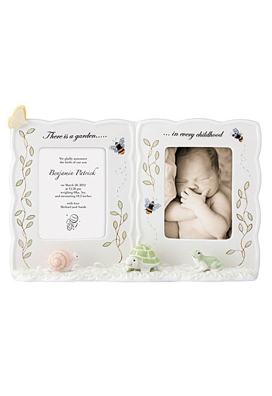 Lenox Butterfly Meadow Baby Double Frame