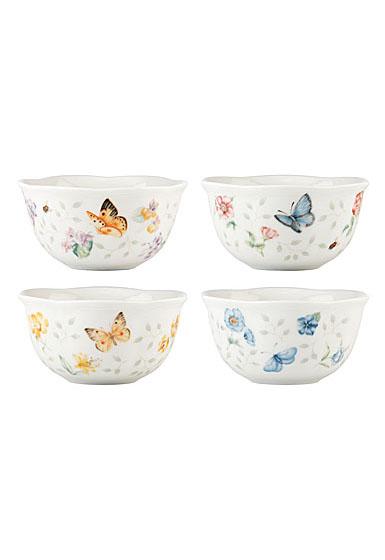 Lenox Butterfly Meadow Petite Dinnerware Dessert Bowl Set Of Four