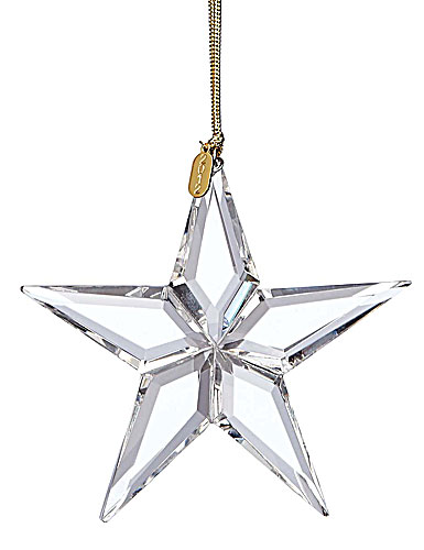 Lenox 2012 Optic Glass Star Ornament