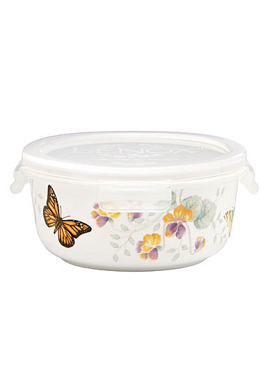 Lenox Butterfly Meadow Dinnerware Round Serving And Store