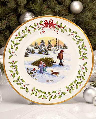 Lenox Holiday Christmas Plate