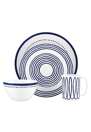 Kate Spade China by Lenox, Charlotte St West 4 Piece Place Setting