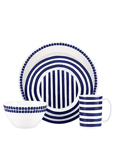 Kate Spade China by Lenox, Charlotte Street North, 4 Piece Place Setting
