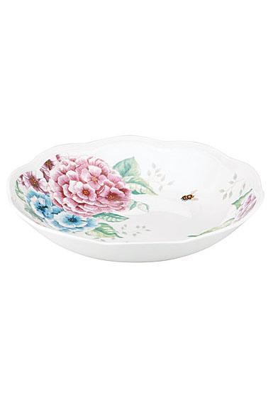 Lenox Butterfly Meadow Hydrangea Dinnerware Pasta Bowl