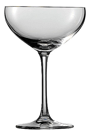 Schott Zwiesel Tritan Crystal, Bar Special Saucer Crystal Champagne, Single