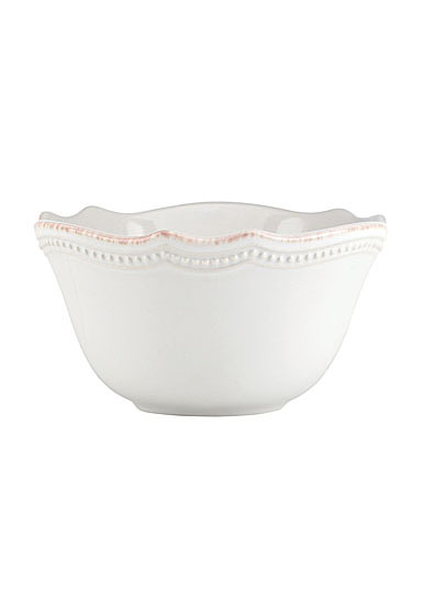 Lenox French Perle Bead White Dinnerware Fruit Bowl