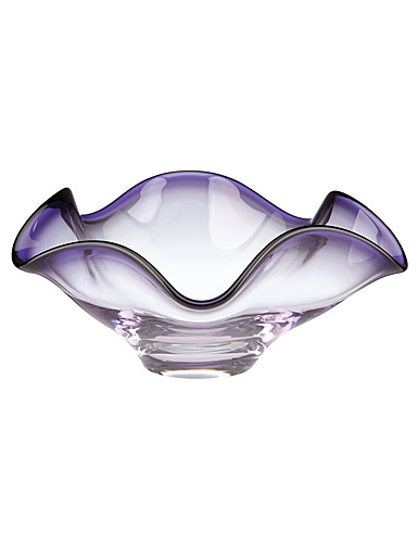Lenox Organics Purple Hue Low Crystal Bowl