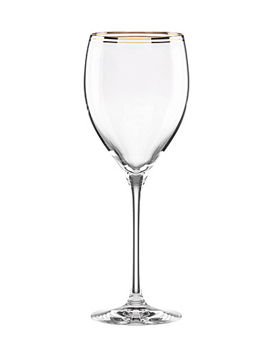 Lenox kate spade, New York Orleans Square Gold Crystal Goblet, Single