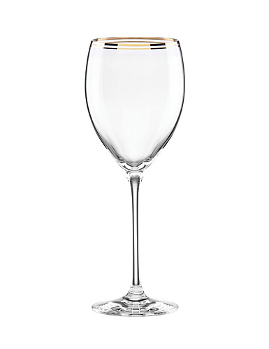 Lenox kate spade, New York Orleans Square Gold Crystal Wine, Single