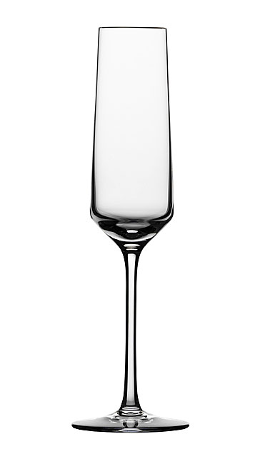 Schott Zwiesel Tritan Crystal, Pure Crystal Champagne Crystal Flute, Single