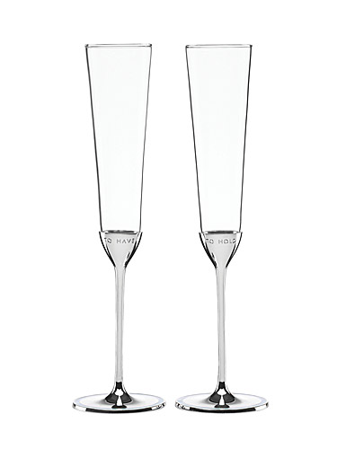 Lenox kate spade New York Take The Cake Toasting Flute, Pair