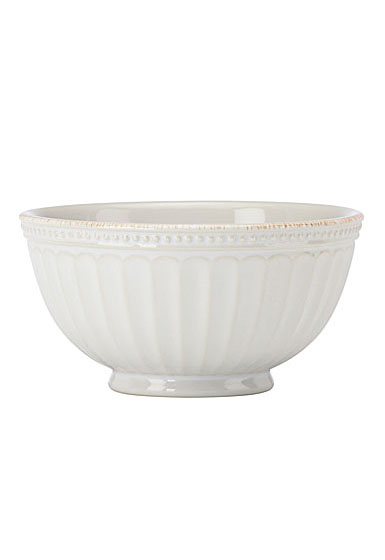 Lenox French Perle Groove White Dinnerware Bowl, Single