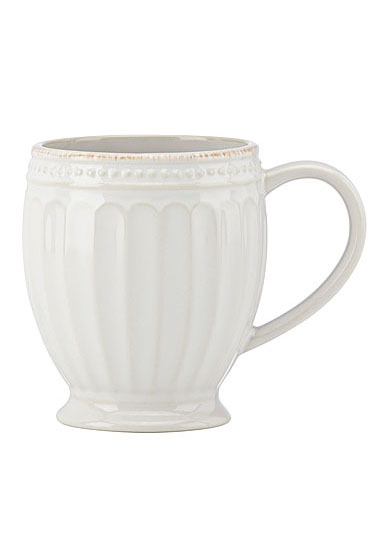Lenox French Perle Groove White Dinnerware Mug, Single