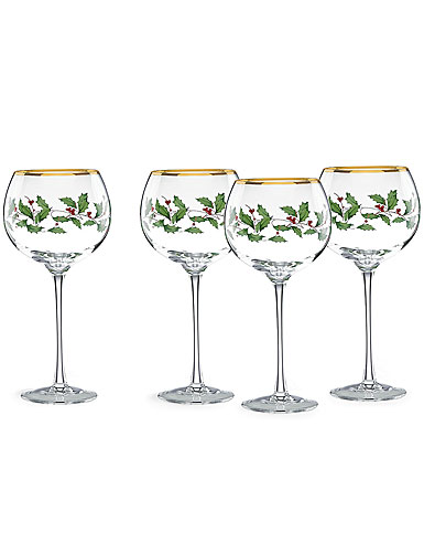 Lenox Holiday Balloon, Set of 4